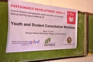 Youth-Students Consultation on SDG 4